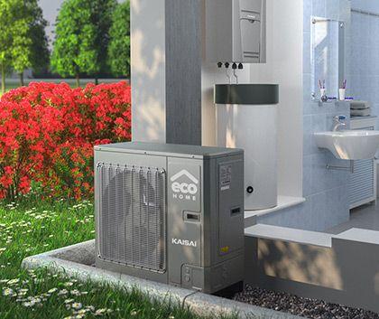 Projektowanie, sprzedaż i montaż pomp ciepła powietrze-powietrze i powietrze-woda